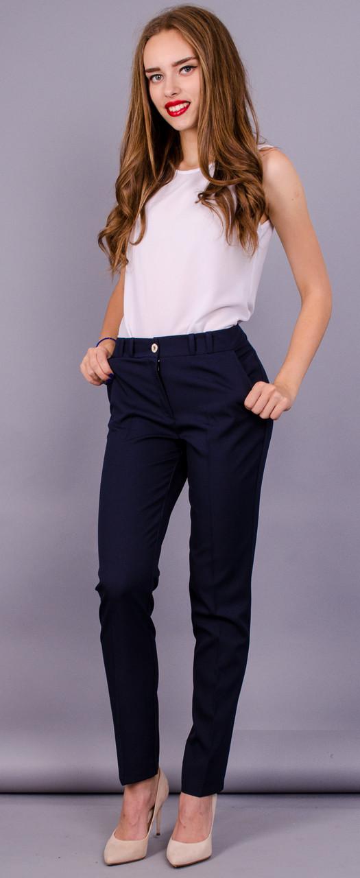 Gloria Romana Кейтлин. Классические брюки. Синий. 48 f5ed0b83fe21b