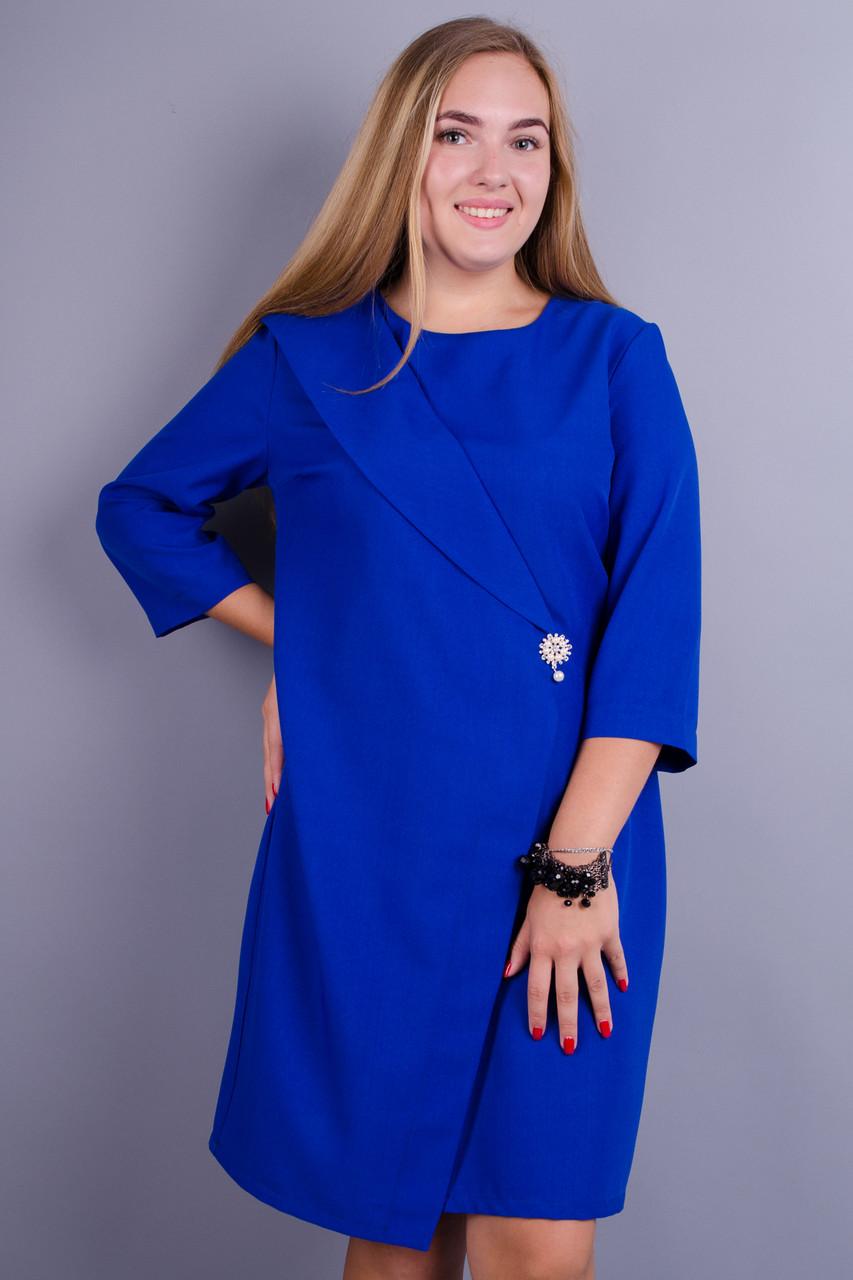 f07ca3ec2ddbb76 Gloria Romana Лидия. Нарядное платье больших размеров. Электрик. 56 ...