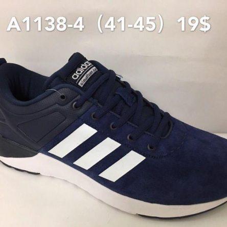 Кроссовки мужские Adidas Cloudfoam цвет синий