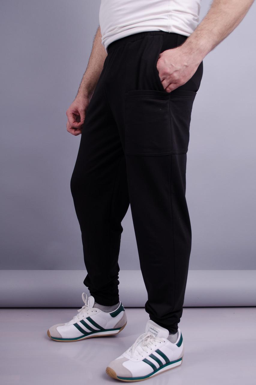 Gloria Romana Нави. Спортивные штаны мужские. Черный. 50